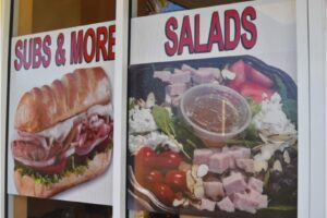 subs and more salad